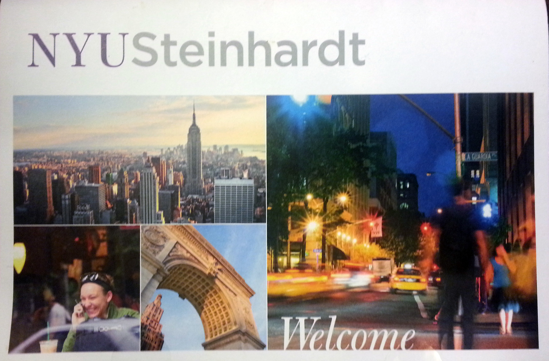 Yield Campaign for NYU Steinhardt - E  James Ford