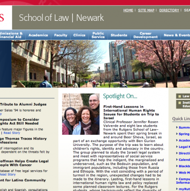 Rutgers, School of Law, Newark